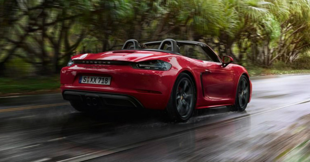 2018 Porsche 718 Boxster Sexy and Swift