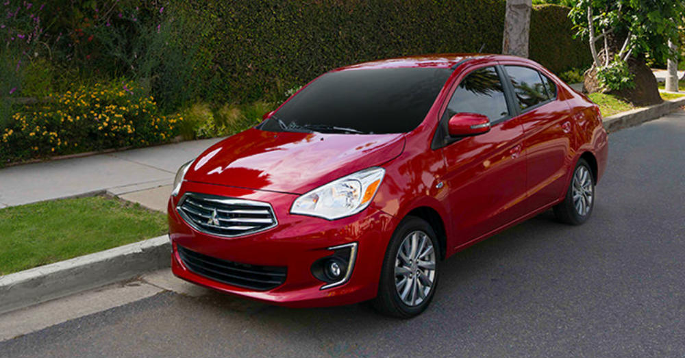 A Mitsubishi Mirage G4 Might Be on the Menu