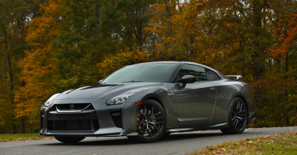 Take a Spin in the Nissan GT-R