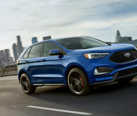 The Ford Edge ST is a Slight Move Up