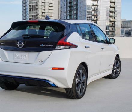 The Nissan Leaf Grabs Plus Performance