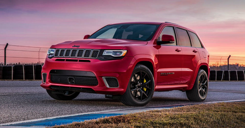 Crossover SUV - This Jeep Carries the Flag Everywhere