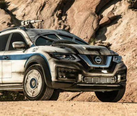 This Nissan Rogue is Too Cool for You