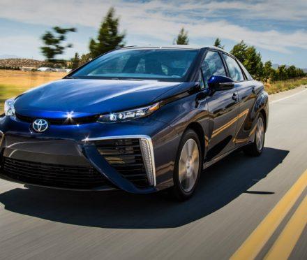 A Futuristic Style in the Toyota Mirai