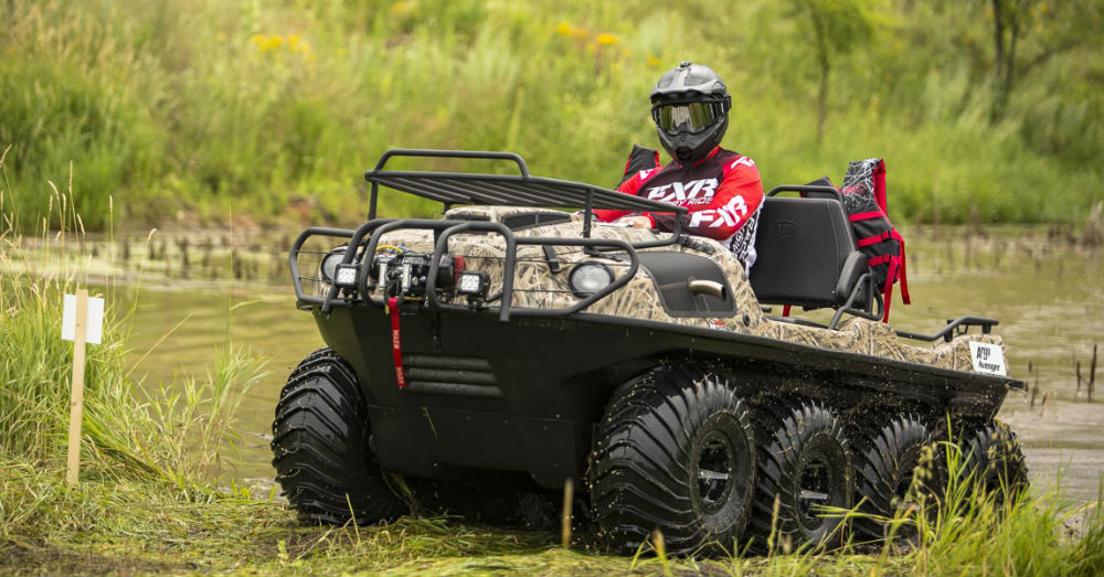 Choose the Argo Conquest for the Extreme Terrain