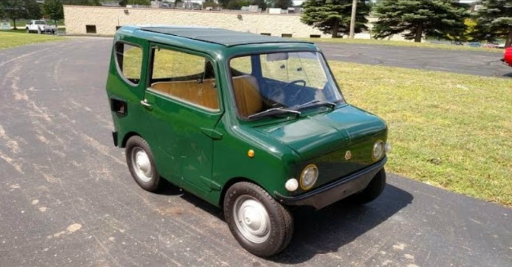 Fiat Frog: Its Small, Its Cute and You've Never Heard of It