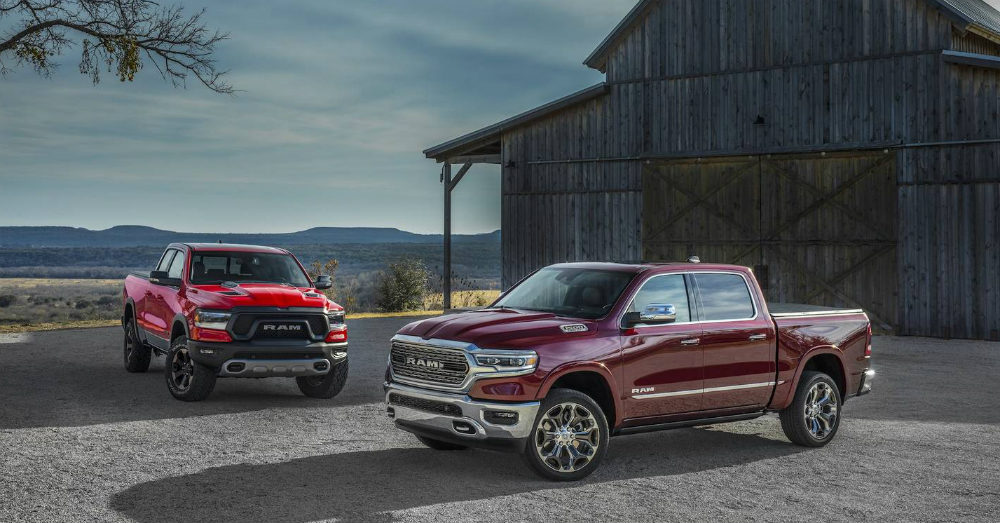More Spy Shots of the New Ram 1500