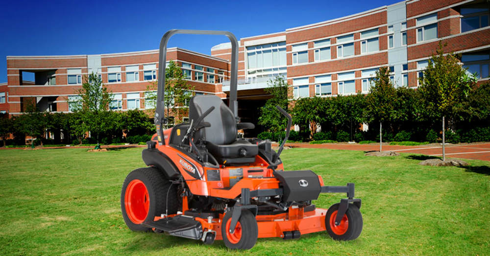 Check Out the Kubota ZD Mower