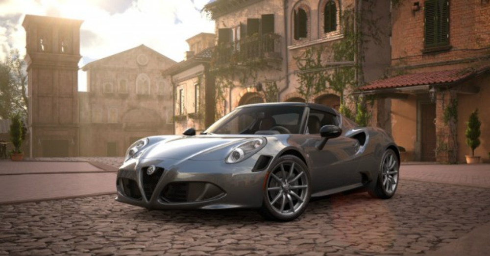 2018 Alfa Romeo 4C Filling Your Driving Prescription