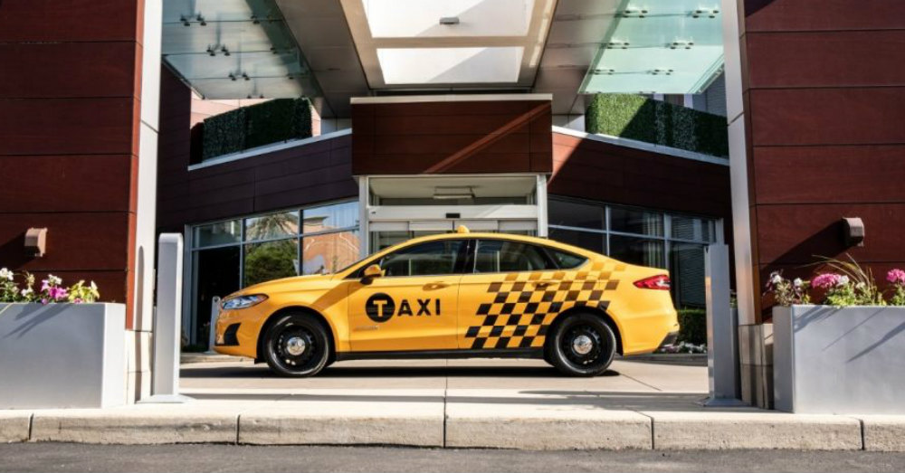 Ford Answers the Taxi Needs in Large Cities