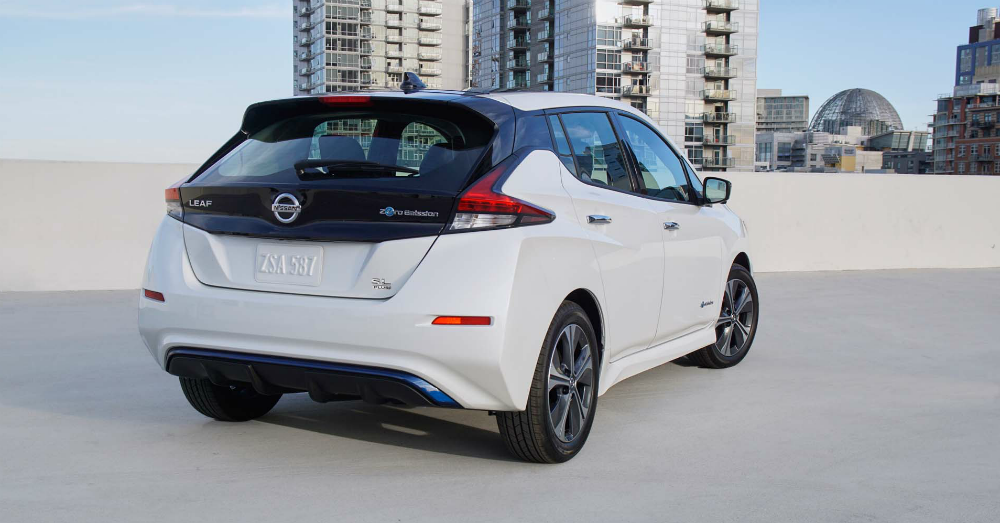 The Nissan Leaf Grabs Plus Performance