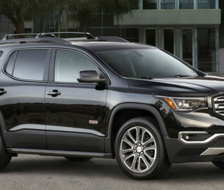 More for you in the GMC Acadia