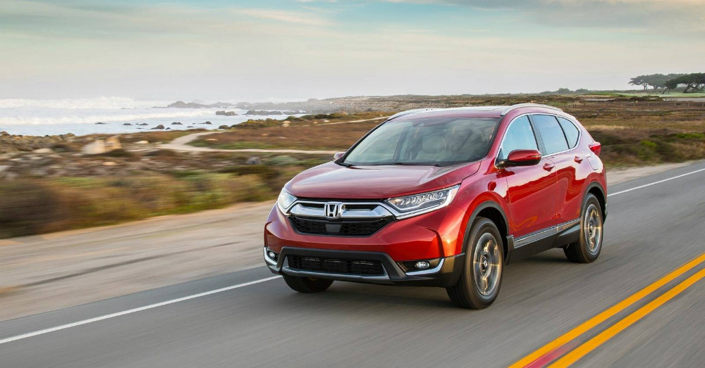 SUVs - The Right Stuff is in the Honda CR-V