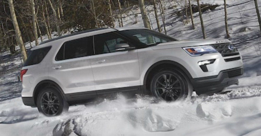 SUV - Signify Your Drive with the Ford Explorer