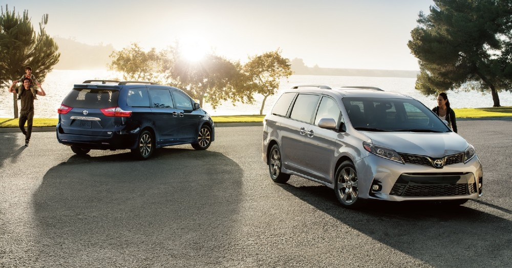 Class-Leading Minivans for the Family