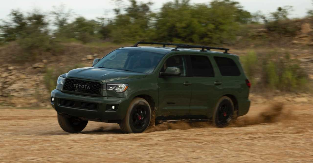 The Toyota Sequoia Drives Right for You