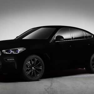 The Vantablack BMW X6 Is the Spookiest Ride on the Road