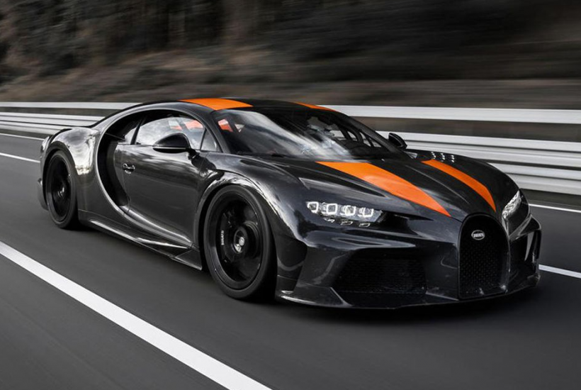 Bugatti Sets New World Speed Record with the Chiron