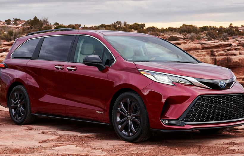 The Toyota Sienna Goes Hybrid for Excellent Fuel Savings