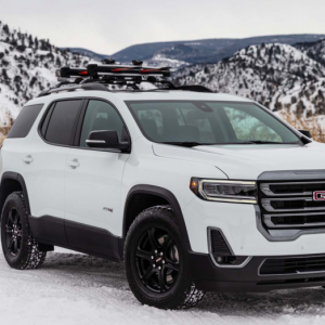 The Five Trims Offered for the GMC Acadia