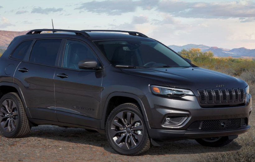 The Jeep Grand Cherokee 80th Anniversary Edition is in the Middle